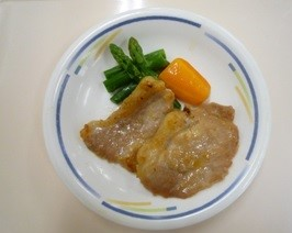 福来豚の味噌焼